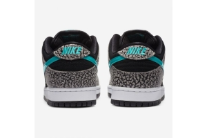 Nike SB Dunk Low Pro 'Atmos Elephant' grey / clear jade