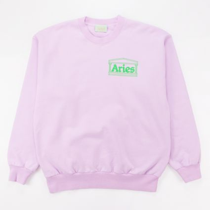 Aries Y2K Sweat Lilac 1