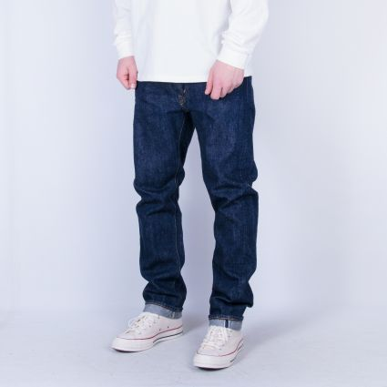 orSlow 107 Ivy Fit Slim Jean One Wash Denim