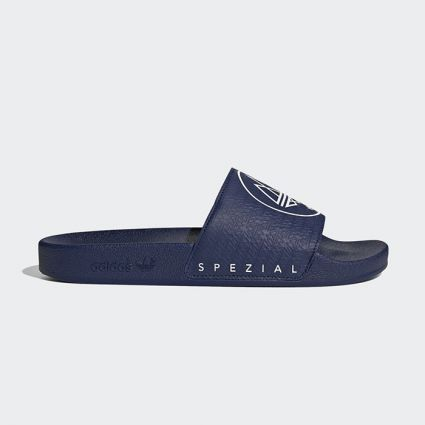 adidas Spezial Adilette SPZL Dark Blue/Cloud White FX1057
