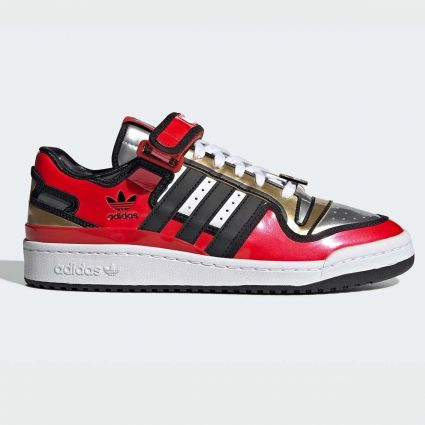 Adidas x The Simpsons Forum Lo Duff Beer Red/Core Black/Ftwr White H05801
