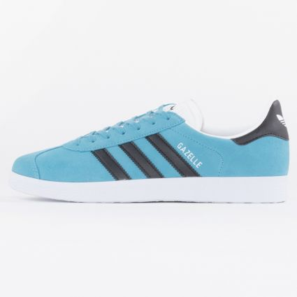Adidas Gazelle Hazy Blue/Core Black/Footwear White1