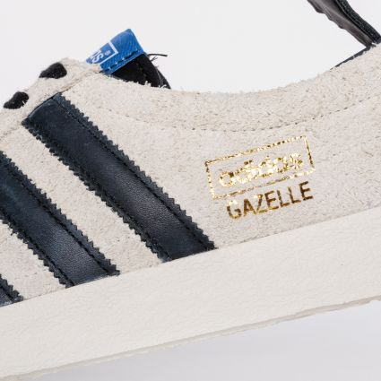 Adidas Gazelle Vintage Cream White/Core Black/Blue FX5488