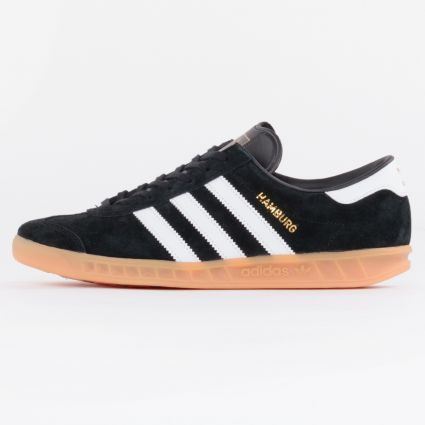 Adidas Hamburg Core Black/Footwear White/Gum1
