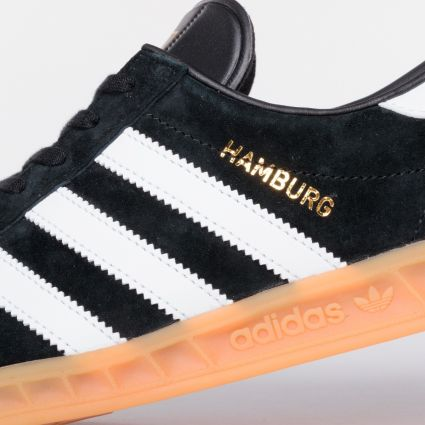 Adidas Hamburg Core Black/Footwear White/Gum 2 S76696