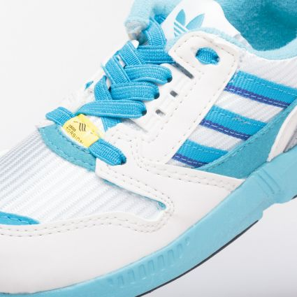 adidas Kids ZX 8000 Crystal White/Light Aqua/Core Black