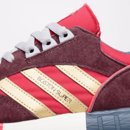 adidas Originals Boston Super Power Red/Gold Metallic/Night Red
