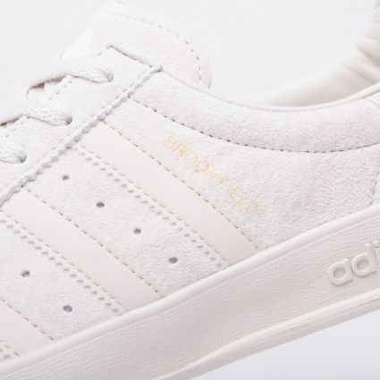 adidas Originals Broomfield Raw White/Clear Brown/Gold Metallic
