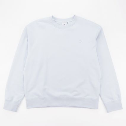 adidas Originals Premium Essentials Crew Sweatshirt Halo Blue