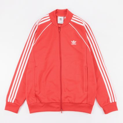 adidas Originals SST Track Top Lush Red