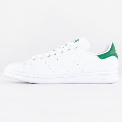 adidas Originals Stan Smith Vegan Cloud White/Green/Cloud White1