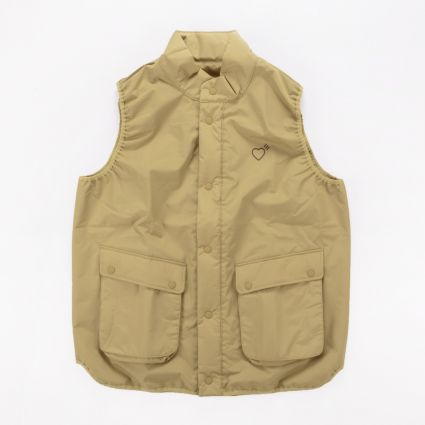 adidas Originals x Human Made Inflatable Vest Khaki1