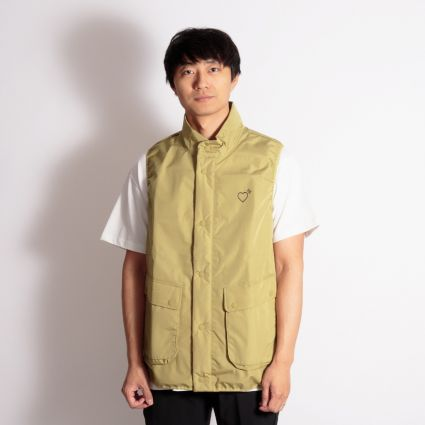 adidas Originals x Human Made Inflatable Vest Khaki