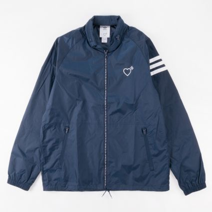 adidas Originals x Human Made Windbreaker Collegiate Navy1