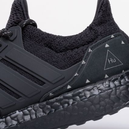 adidas Originals x Pharrell Williams Ultraboost DNA Core Black/Core Black/Core Black H01893