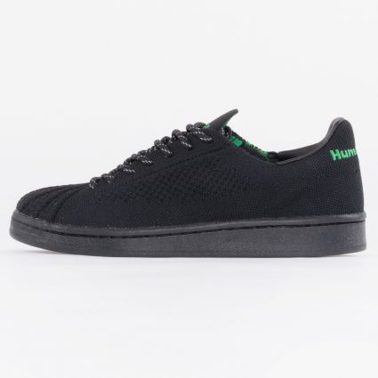 Adidas PW Superstar PK Core Black/Core Black/Vivid Green1