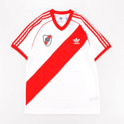Adidas River 85 Jersey White/Active Red1