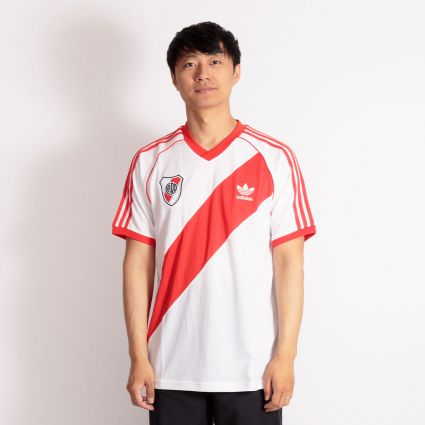 Adidas River 85 Jersey White/Active Red