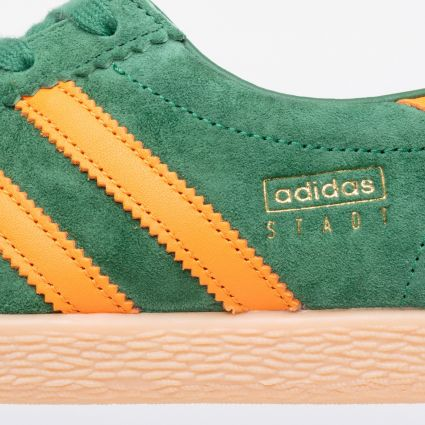 adidas Originals Stadt Amazon Green/Bright Orange/Gum 3