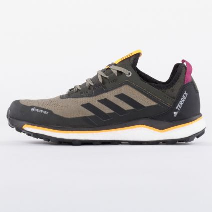 Adidas Terrex Agravic Flow GTX Legacy Green/Core Black/Solar Gold1
