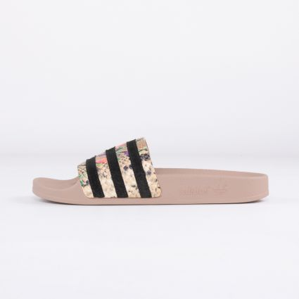 adidas Women's Originals Adilette Pale Nude/Core Black/Pale Nude1