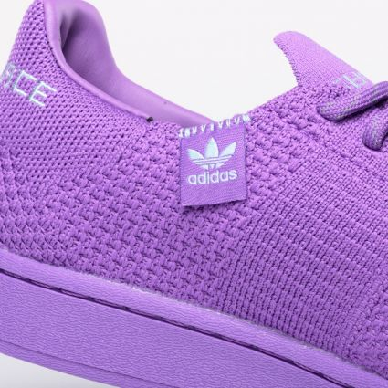 adidas Originals x Pharrell Williams Superstar Primeknit Active Purple/Grey Two/Night Red