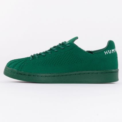 Adidas x Pharrell Williams Superstar PK Dark Green/Dark Green/Sky Tint1