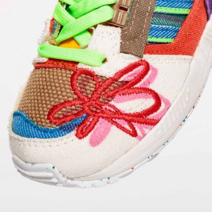 Adidas x Sean Wotherspoon ZX 8000 Superearth 'Legacy 4 Our Kids' Off White/Bluebird/Red 212 GY5262