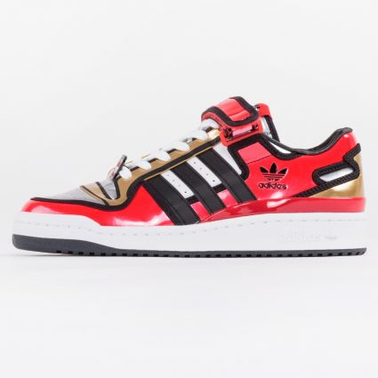 Adidas x The Simpsons Forum Lo Duff Beer Red/Core Black/Ftwr White1