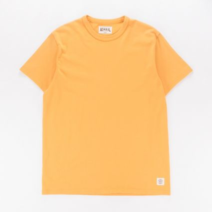 Admiral Aylestone Short Sleeve T-Shirt Hammer Yellow1