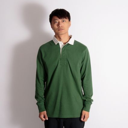 Admiral Welford Rugby Shirt Harrier Green