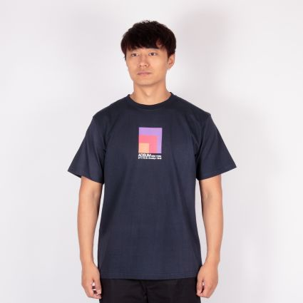 Adsum Block T-Shirt Dark Navy
