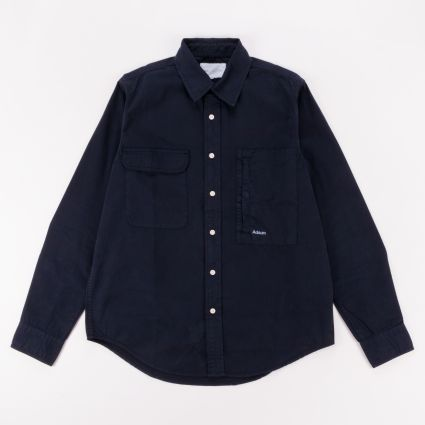 Adsum Workshirt Dark Navy/Sky Blue