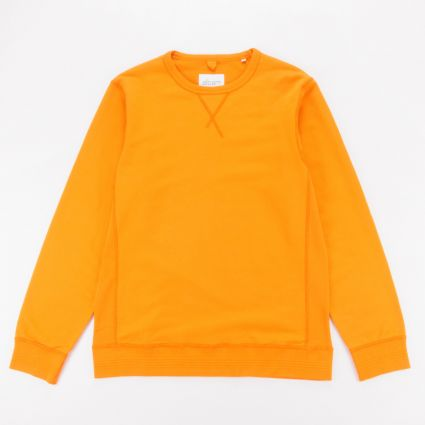 Albam Classic Sweatshirt Burnt Orange1