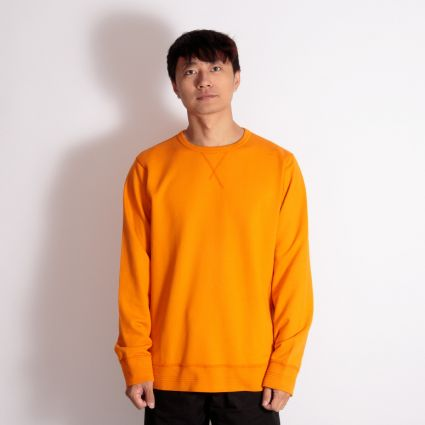 Albam Classic Sweatshirt Burnt Orange