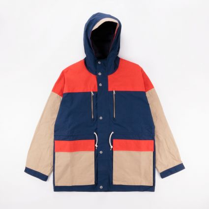 Albam Orienteering Parka Dark Navy/Orange/Visual Orange1