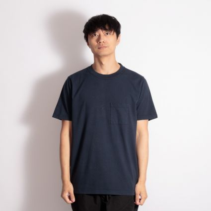 Albam Short Sleeve Workwear T-Shirt Navy