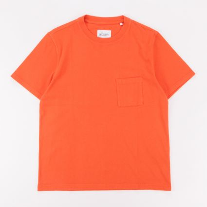 Albam Workwear SS T-Shirt Red