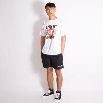 Alife Basics Nylon Shorts Black