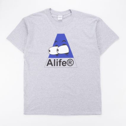 Alife Bugged Out T-Shirt Heather Grey/Blue1