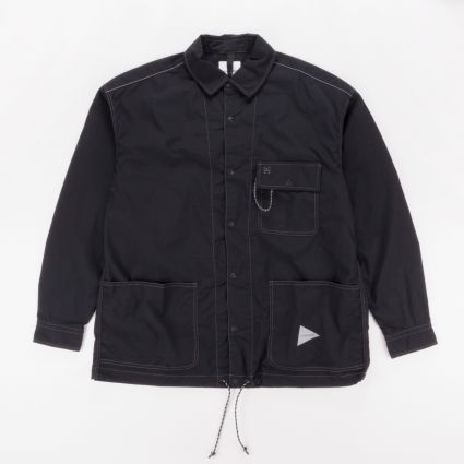 and wander Dry Rip Shirt Black1