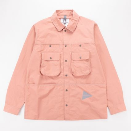 and wander Nylon Taffeta Jacket Pink1