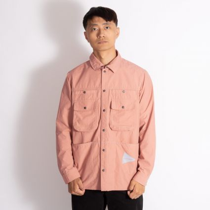 and wander Nylon Taffeta Jacket Pink