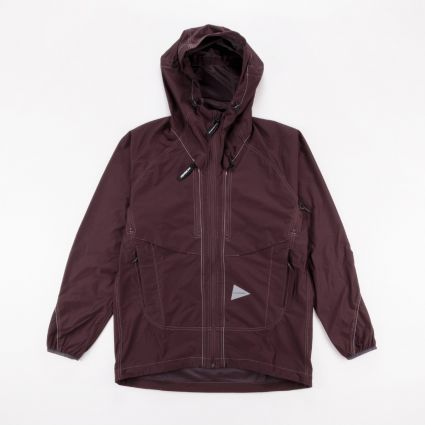 and wander Raschel Ripstop Jacket Brown1