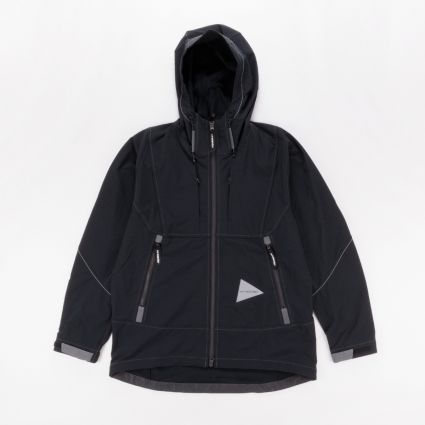 and wander Schoeller 3XDRY Stitch Jacket Black1