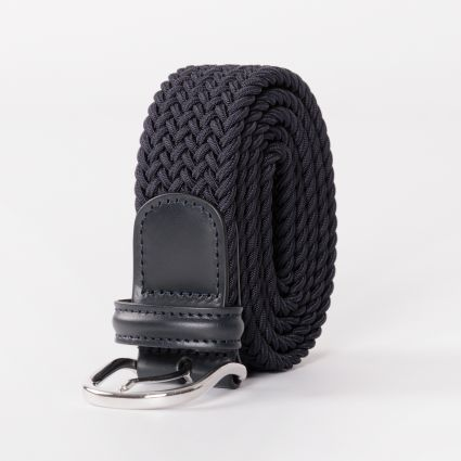 Andersons Woven Belt Navy