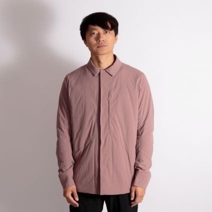 Arc'teryx Veilance Mionn IS Overshirt Mauve Sand