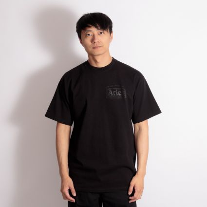 Aries Temple Short Sleeve T-Shirt Black