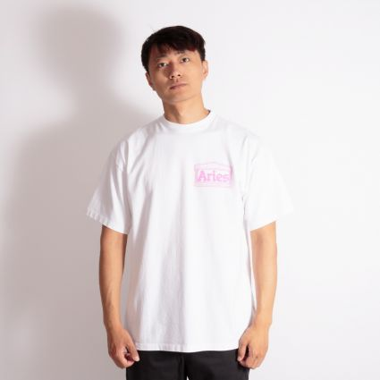 Aries Temple SS T-Shirt White