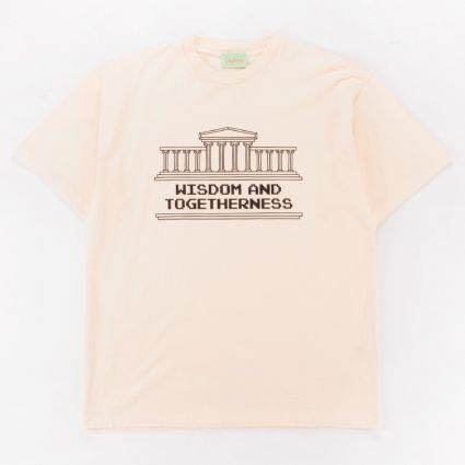 Aries Wisdom And Togetherness T-Shirt Alabaster1